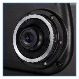 4.3 polegadas 1080P câmera de espelho retrovisor com lente de duas câmeras