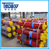 Cilindro telescópico hidráulico chinês da fábrica profissional