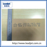 Carácter grande Ink-Jet Impresora para el arroz de la bolsa de tejido (DOD) 10~60mm