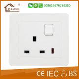 10A 3G 2W Wall Light Control Switch