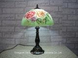 Rose Design Lampes de table modernes Tiffany avec nuances de verre