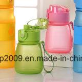 Qualitäts-Plastikwasser-Flasche, rosafarbene Sport-Wasser-Flasche, Plastikwasser-Flasche