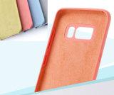 Fonctionnaire pour la galaxie S8 de Samsung plus le cas de couverture de silicones