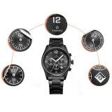 Chronographe Montres en acier de luxe en acier Montre à quartz analogique Quartz 72182