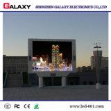 INMERSIÓN a todo color al aire libre fija P8/P10 3 de la cartelera lateral de Adertising del camino en 1 pared video del LED para hacer publicidad