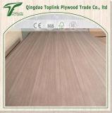 M. rouge Glue Plywood de faisceau de peuplier de face de bois dur de placage de 4mm Plb
