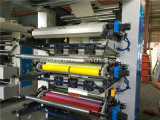4 Couleur High Speed ​​Machine de tissu non tissé d'impression flexographique (NX)