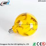 L'exportation Hot vendeur Creative LED jaune lumière G125 3W Ampoule