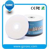 잉크 제트 인쇄할 수 있는 공백 DVD-R 16X 4.7GB 120mins 50PCS는 수축 포장한다