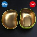 Lieferanten-Lieblingssüßigkeit-Metallzinn: Bohne-Geformter süsser Kasten (B001-V16)