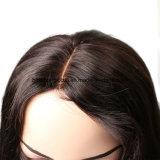 かつらの高品質の人間の毛髪のかつら100%のインド人の毛