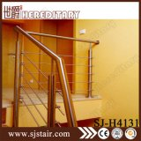 304/316 pêche à la traîne d'escalier d'acier inoxydable pour d'intérieur (SJ-S319)