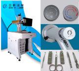 広く利用されたファイバーレーザーのマーキング機械レーザープリンターによる印刷の電話車の充電器の金属