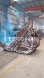Volvo Ec700 Escavadeira High Tensile Steel 4m3 Rock Bucket
