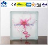 Высокое качество Jinghua художественных P-1 Окраска стекла блок/кирпича
