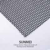 L'aluminium Honeycomb Core pour matériaux de construction, la décoration, machine de découpe laser