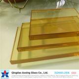 Vidrio de flotador teñido para el vidrio del vidrio/partición de la pared
