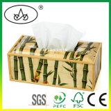 Het Bamboe van de douane/de Houten Houder van het Weefsel voor Auto of Keuken