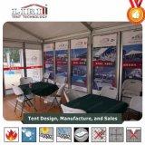 Tenda commerciale di evento utilizzata nella campagna e nella pubblicità esterne