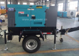 Tipo gerador de Denyo de potência Diesel de 14kVA 17kVA com reboque móvel
