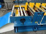 A placa ondulada da telhadura lamina a formação da máquina