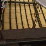 Satin aufgetragenes China-Golddekoratives Edelstahl-Blatt