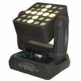 5X5 van de LEIDENE van de Matrijs 25pcsx15W RGBW Licht het Bewegende HoofdWas van de Straal