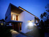 IP65 de la pared del jardín de la luz solar LED de luz con Sensor PIR Lámpara de Pared exterior