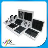 Le luxe moderne en bois Black Métal acrylique Watch Display Stand 6 emplacements