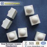 Blocchetti resistenti dell'abrasione di usura della ceramica dell'abrasione come rivestimenti industriali