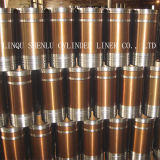 Luva do cilindro dos acessórios do motor da máquina escavadora usada para a lagarta D339/D342c/D342t/D364/D375/D375D/D386/D13000/8n5676
