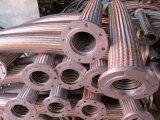 Boyau ridé/compliqué de l'acier inoxydable 304 de métal flexible