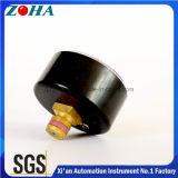 2 polegadas / 50 mm de montagem traseira 4bar ABS ASA caixa de plástico manômetros de pressão de uso geral com ponteiro de ajuste vermelho