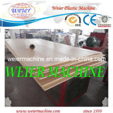 El PVC de WPC hizo espuma línea de la máquina de la protuberancia de las placas