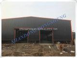 Construção fabricada do armazém da construção de aço