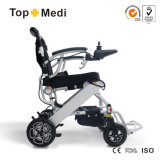 Topmedi Aluminium Light Weight Foldable Electric Power Wheelchair