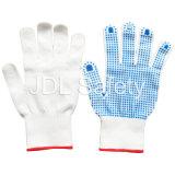 Нейлоновые перчатки с ПВХ точками упора для рук (S5103)