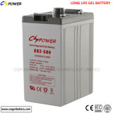 Cspower Rechargeable Deep Cycles Freezing Battery for Solar 2V 500ah