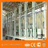 自動半ゆでにされた米の製粉のプラント、米の処理機械を完了しなさい