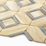 工場価格の小さい正方形の浴室の床のステンドグラスのモザイク・タイル