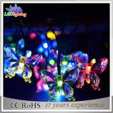 Quirlandes électriques de fantaisie imperméables à l'eau de la décoration DEL de Noël coloré