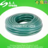 Mangueira reforçada transparente do fio de aço do PVC