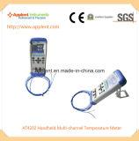 Termómetro de multicanal termómetro portátil (A4202)