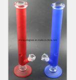 17.7 polegadas de tubulação de água de vidro para a estação da recuperação do petróleo do cachimbo de água