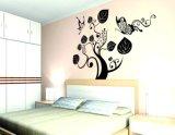 유행 잎 벽 스티커