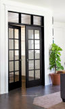 75 Français de la série des portes de patio pour l'extérieur de l'installation