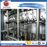 Máquina de rellenar del refresco carbónico de la botella de cristal