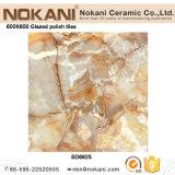 Volles Polnisches glasig-glänzende Porzellan-Fliese-Polierfußboden-Fliese für Wohnzimmer