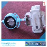 Elektrische actuator rubberzetel bct-e-rbfv-11 van de wafeltjevleugelklep