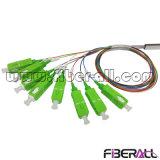 Mini 1X8 PLC Splitter de fibra óptica FTTH Pon CATV